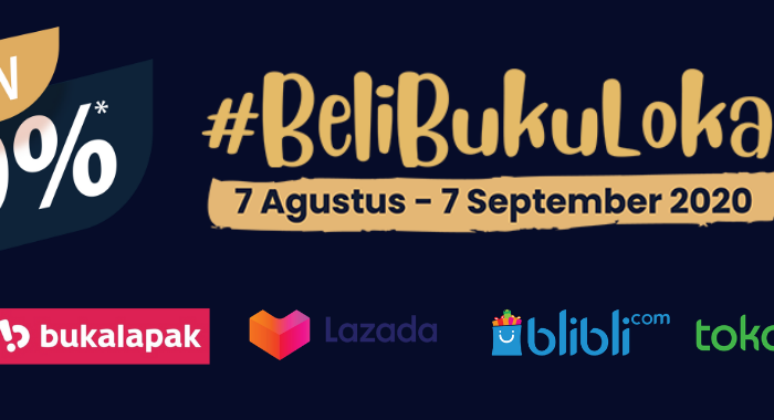 #belibukulokal diskon up to 40 %
