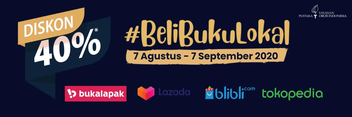 #belibukulokal diskon up to 40 %